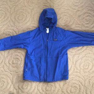 Patagonia boys baggies rain/wind jacket